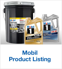 Mobil product listing