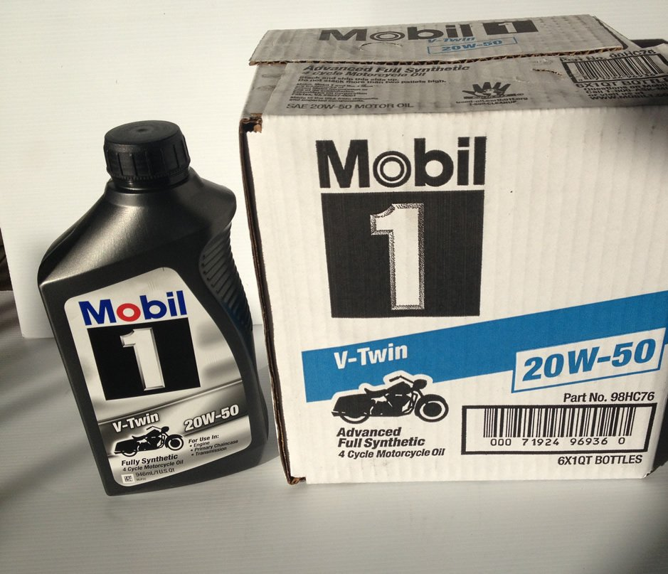 Mobil 1 Vtwin